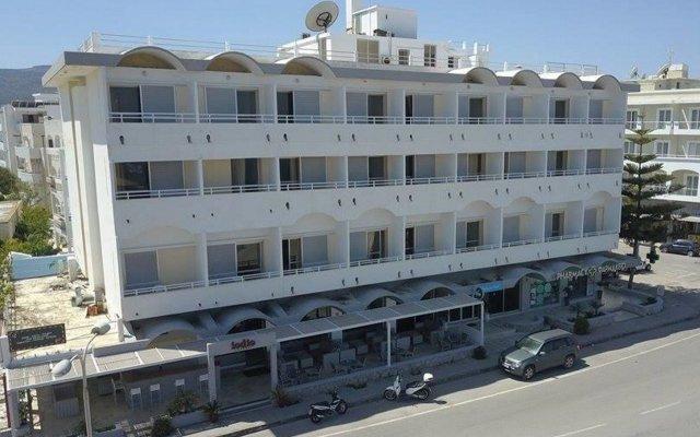 Отель Zephyros Hotel Греция, Кос - 1 отзыв об отеле, цены и фото номеров - забронировать отель Zephyros Hotel онлайн вид на фасад