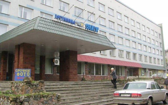 Гостиница Селигер вид на фасад
