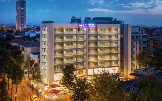 Hotel Aria вид на фасад