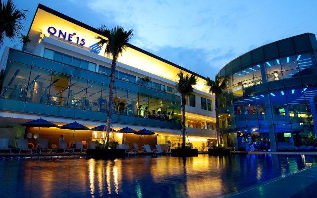 Отель One15 Marina Club Сингапур вид на фасад