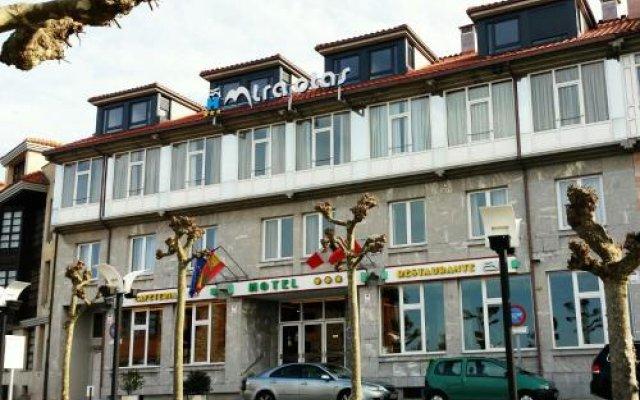 Отель Miraolas вид на фасад