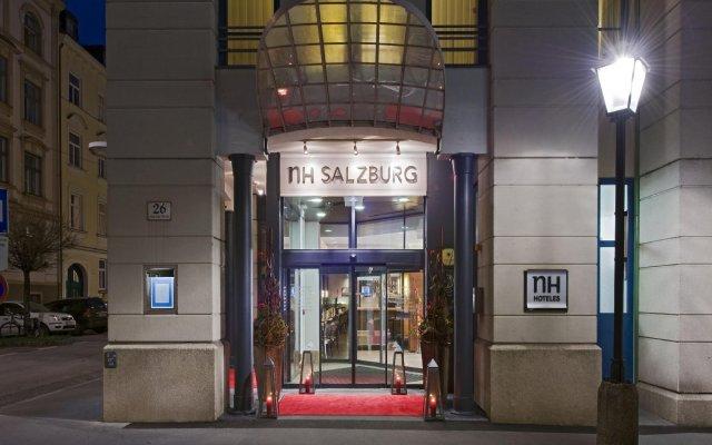 Отель Nh Salzburg City Зальцбург вид на фасад