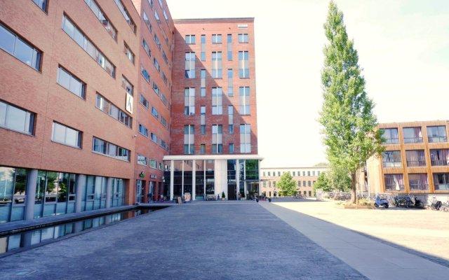 Отель Amsterdam ID Aparthotel Нидерланды, Амстердам - отзывы, цены и фото номеров - забронировать отель Amsterdam ID Aparthotel онлайн вид на фасад