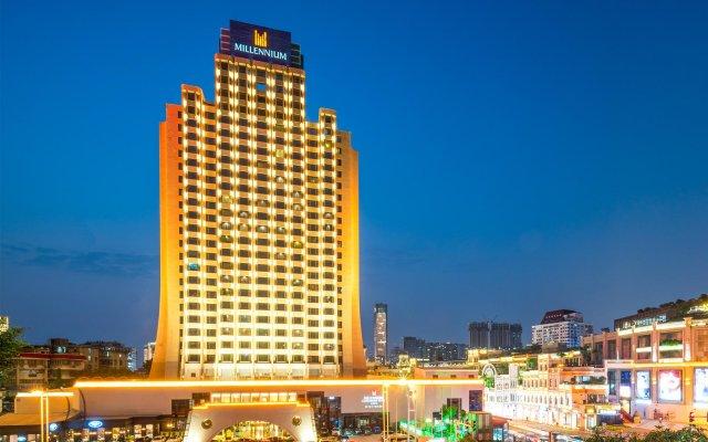 Millennium Harbourview Hotel Xiamen вид на фасад