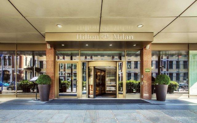 Отель Hilton Milan вид на фасад
