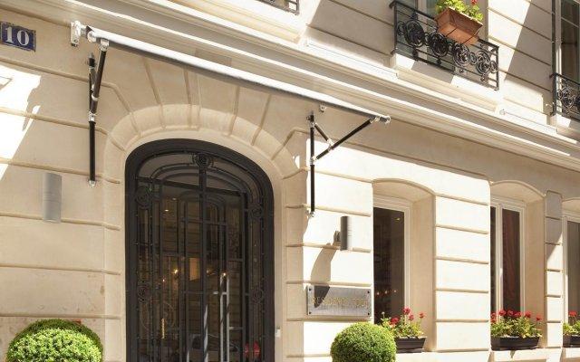 Hotel Residence Foch Париж вид на фасад