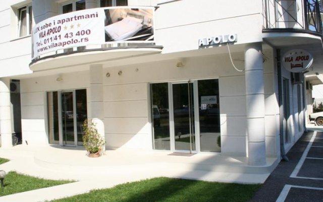 Отель Vila Apolo Сербия, Белград - отзывы, цены и фото номеров - забронировать отель Vila Apolo онлайн вид на фасад