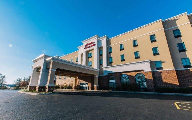 Отель Hampton Inn & Suites Effingham США, Эффингем - отзывы, цены и фото номеров - забронировать отель Hampton Inn & Suites Effingham онлайн вид на фасад