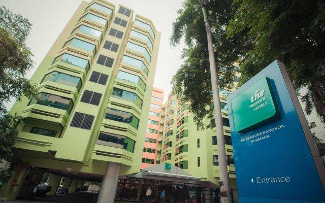 Отель The Seasons Bangkok Huamark вид на фасад