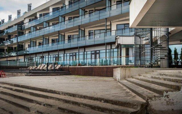 Апартаменты Pirita Beach & SPA вид на фасад