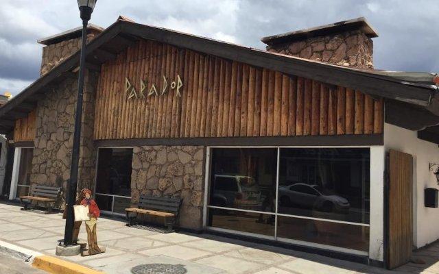 Hotel Parador Santa Cruz вид на фасад