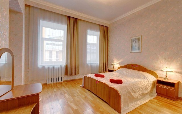 Апартаменты СТН у Эрмитажа Санкт-Петербург комната для гостей