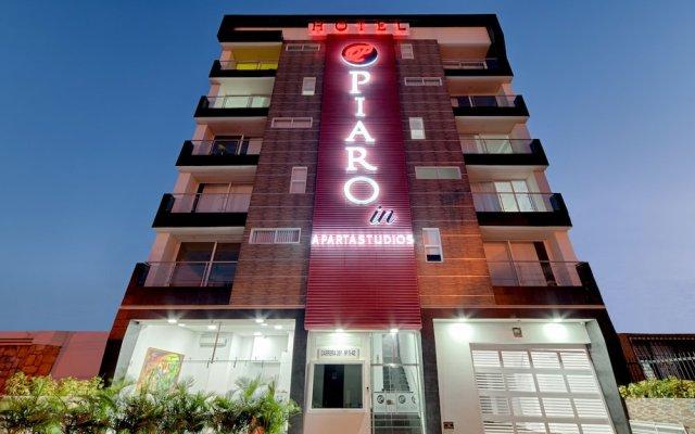 Hotel Piaro In Apartasuites вид на фасад
