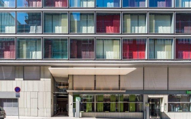 SIDE Design Hotel Hamburg вид на фасад