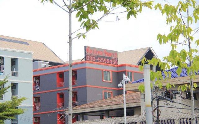 Апартаменты Toptel Ratchada5 Apartment вид на фасад