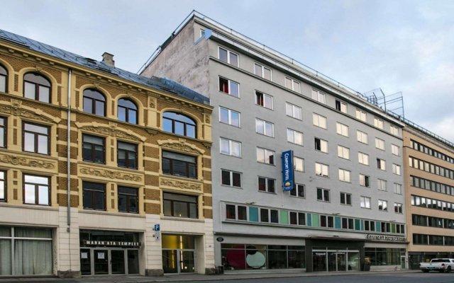Отель Comfort Xpress Youngstorget Осло вид на фасад