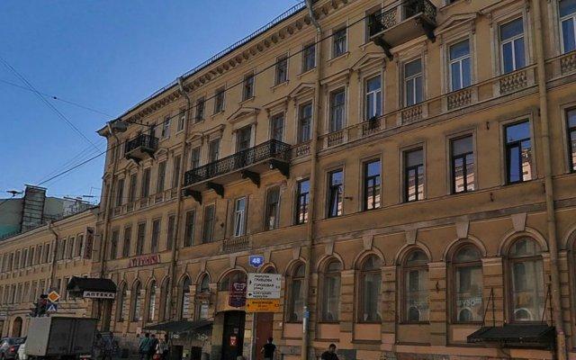 EuroFriends Hostel вид на фасад