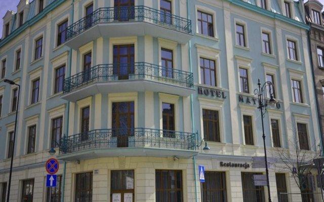 Отель MATEJKO Краков вид на фасад