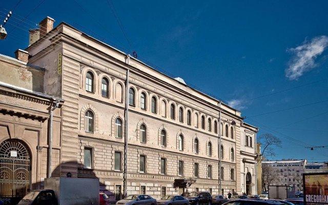 Хостел Пётр Санкт-Петербург вид на фасад