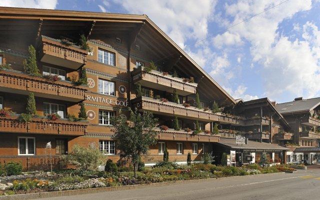 Отель ERMITAGE Wellness- & Spa-Hotel Швейцария, Шёнрид - отзывы, цены и фото номеров - забронировать отель ERMITAGE Wellness- & Spa-Hotel онлайн вид на фасад