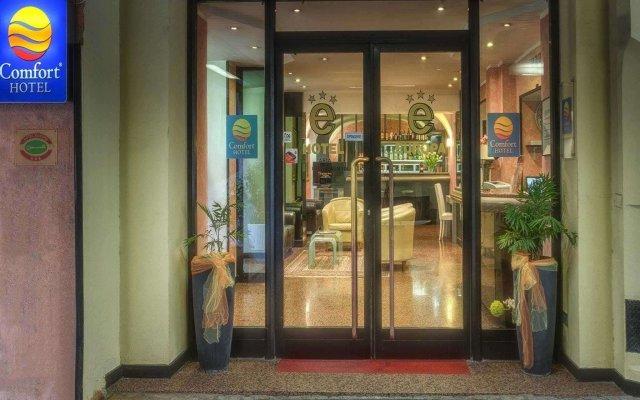 Отель Comfort Hotel Europa Genova City Centre Италия, Генуя - 14 отзывов об отеле, цены и фото номеров - забронировать отель Comfort Hotel Europa Genova City Centre онлайн вид на фасад
