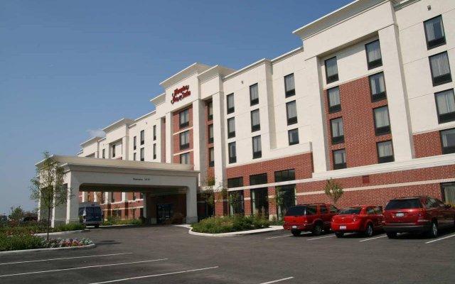 Отель Hampton Inn & Suites Columbus-Easton Area США, Колумбус - отзывы, цены и фото номеров - забронировать отель Hampton Inn & Suites Columbus-Easton Area онлайн вид на фасад