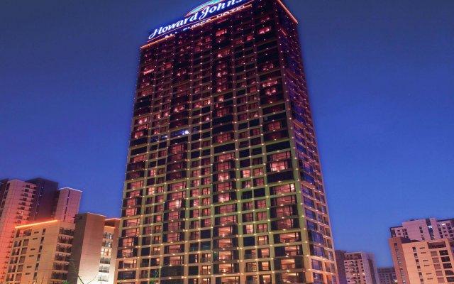 Отель Howard Johnson All Suites Hotel Китай, Сучжоу - отзывы, цены и фото номеров - забронировать отель Howard Johnson All Suites Hotel онлайн вид на фасад