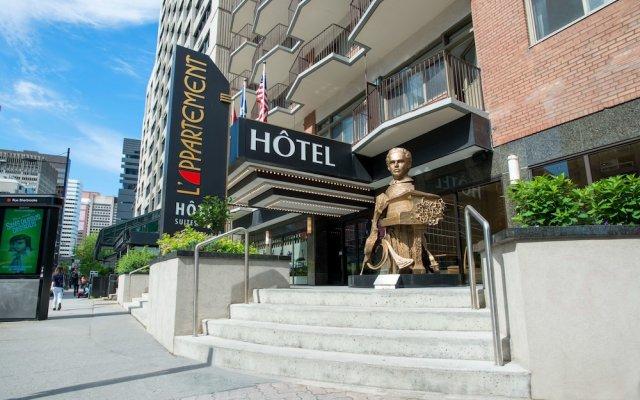 Отель L'Appartement Hotel Канада, Монреаль - отзывы, цены и фото номеров - забронировать отель L'Appartement Hotel онлайн вид на фасад