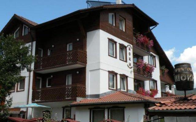 Отель Family Hotel Shoky Болгария, Чепеларе - отзывы, цены и фото номеров - забронировать отель Family Hotel Shoky онлайн вид на фасад