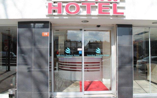 Отель Dedem 1 Стамбул вид на фасад