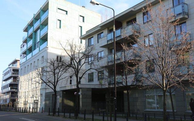 Апартаменты ASKI Powisle Copernicus Apartment вид на фасад