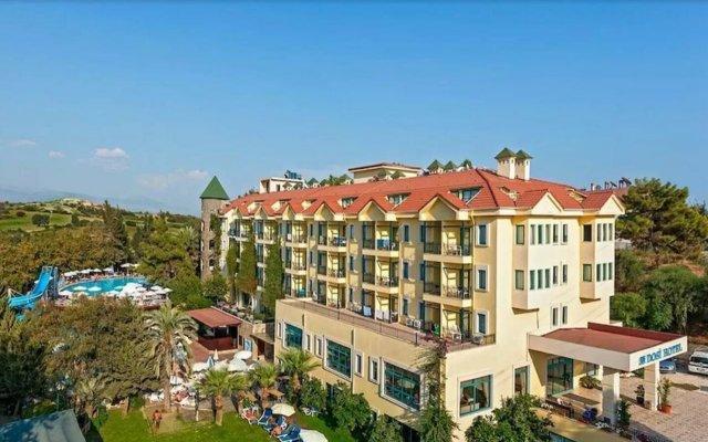 Dosi Hotel Турция, Сиде - отзывы, цены и фото номеров - забронировать отель Dosi Hotel - All Inclusive онлайн вид на фасад