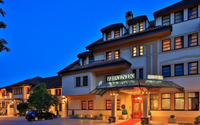 Hotel Zlatnik вид на фасад