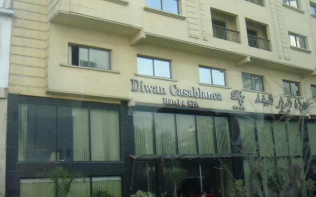 Отель Diwan Casablanca вид на фасад