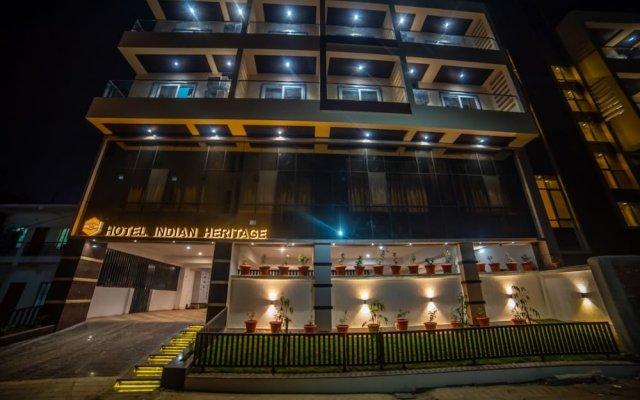 Hotel Indian Heritage вид на фасад