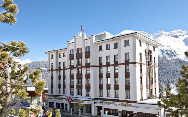 Schweizerhof Swiss Quality Hotel вид на фасад