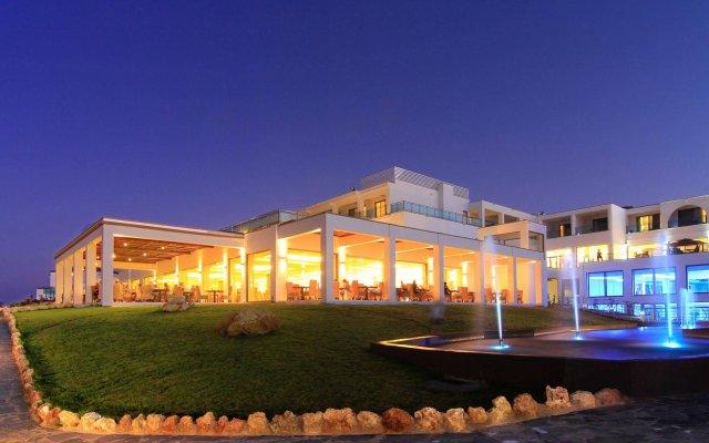 Отель The Kresten Royal Villas & Spa Греция, Родос - отзывы, цены и фото номеров - забронировать отель The Kresten Royal Villas & Spa онлайн вид на фасад