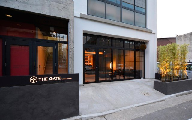 The Gate Hostel Фукуока вид на фасад