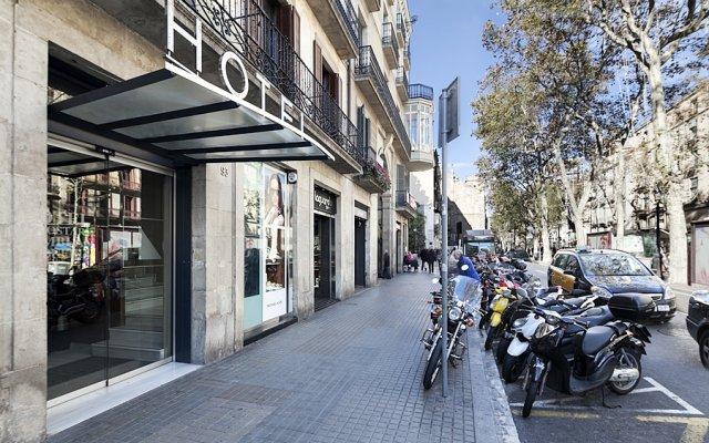 Отель Exe Ramblas Boqueria Испания, Барселона - 2 отзыва об отеле, цены и фото номеров - забронировать отель Exe Ramblas Boqueria онлайн вид на фасад
