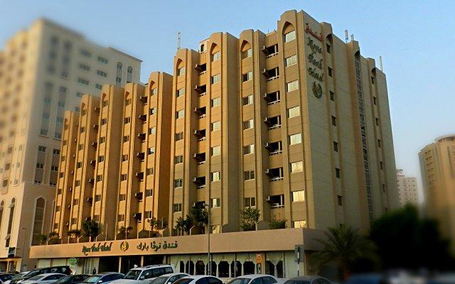 Отель Nova Park Hotel ОАЭ, Шарджа - 1 отзыв об отеле, цены и фото номеров - забронировать отель Nova Park Hotel онлайн вид на фасад