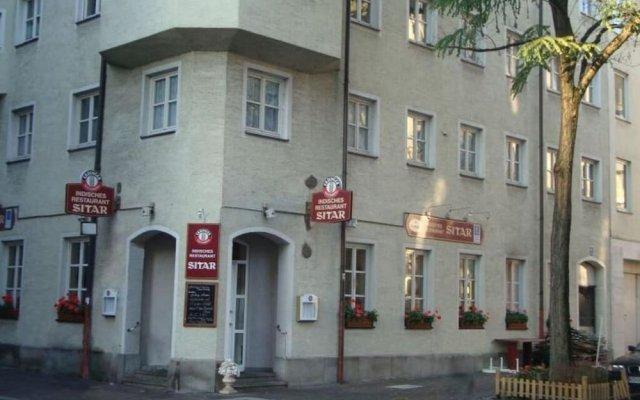 Отель Pension Mona Lisa Германия, Мюнхен - отзывы, цены и фото номеров - забронировать отель Pension Mona Lisa онлайн вид на фасад
