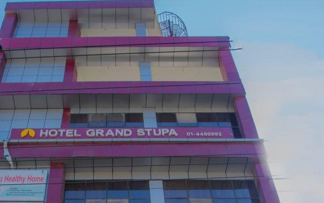 Отель OYO 266 Hotel Grand Stupa Непал, Катманду - отзывы, цены и фото номеров - забронировать отель OYO 266 Hotel Grand Stupa онлайн вид на фасад