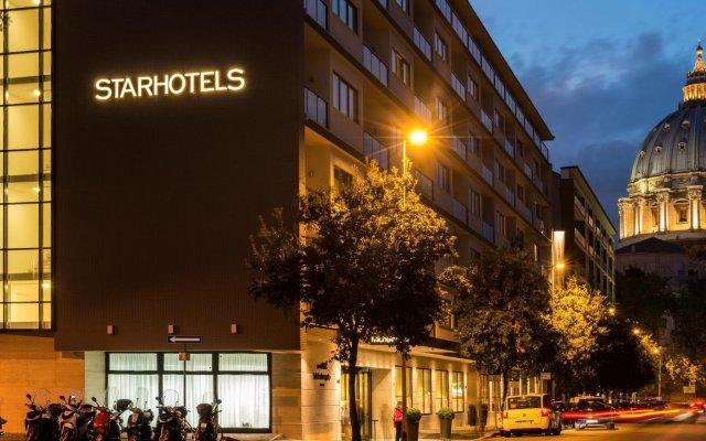 Отель Starhotels Michelangelo вид на фасад