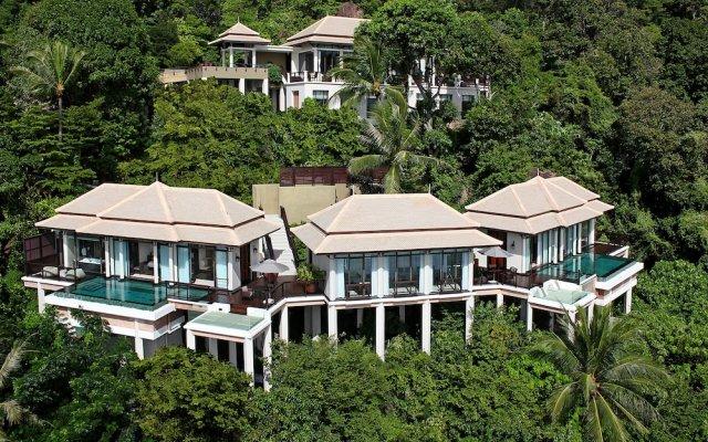 Отель Banyan Tree Samui Таиланд, Самуи - 10 отзывов об отеле, цены и фото номеров - забронировать отель Banyan Tree Samui онлайн вид на фасад
