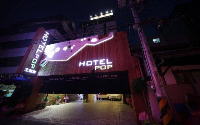 Отель POP1 Hotel Южная Корея, Сеул - отзывы, цены и фото номеров - забронировать отель POP1 Hotel онлайн вид на фасад