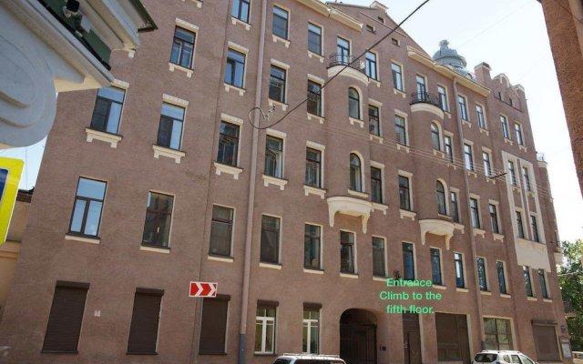 Malevich hostel вид на фасад
