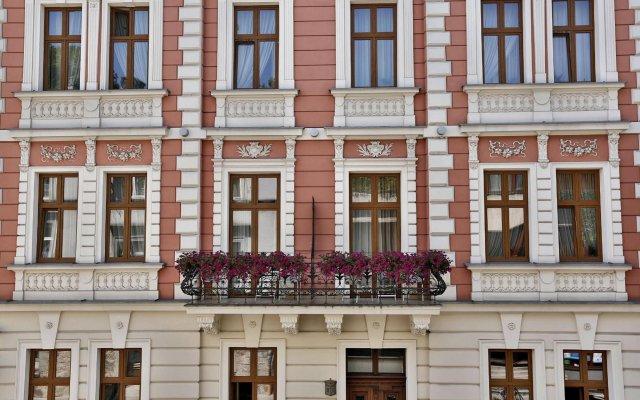 Отель Amber вид на фасад