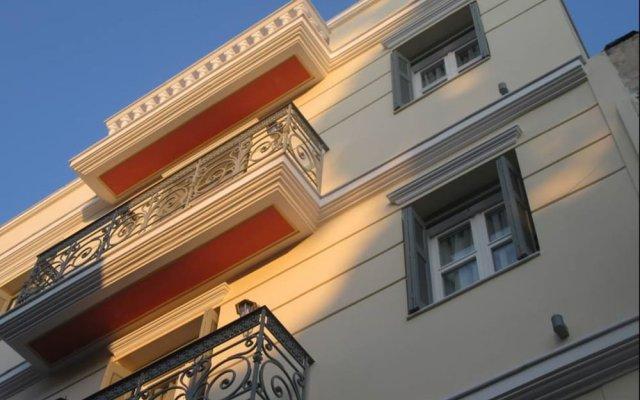 Отель Nota Hotel Apartments Греция, Афины - отзывы, цены и фото номеров - забронировать отель Nota Hotel Apartments онлайн вид на фасад