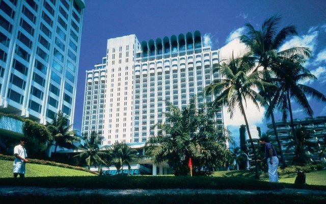 Shangri La Hotel Singapore Сингапур вид на фасад