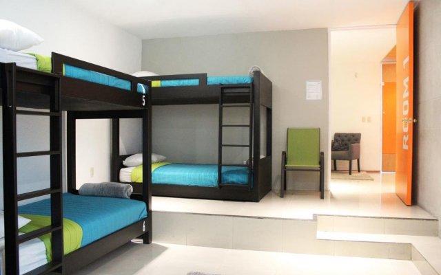 Отель Hostal Mx Coyoacan Мехико комната для гостей